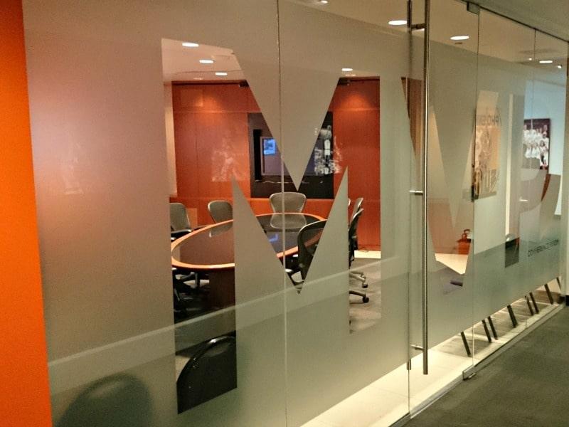 glass window office