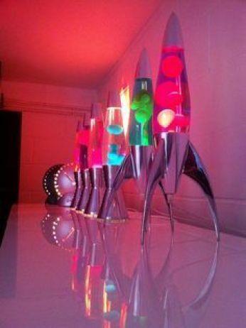 lámparas de lava