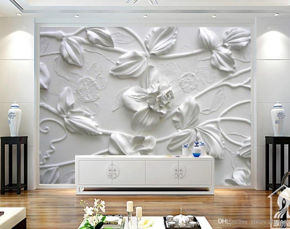 papel tapiz flores