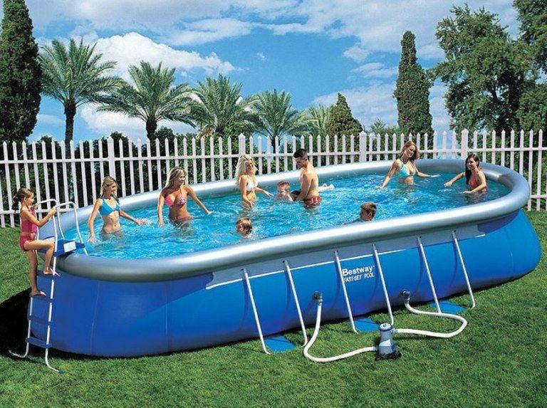 piscina de hinchar