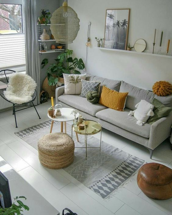 Decoración de tu hogar con estilo Nórdico - salones