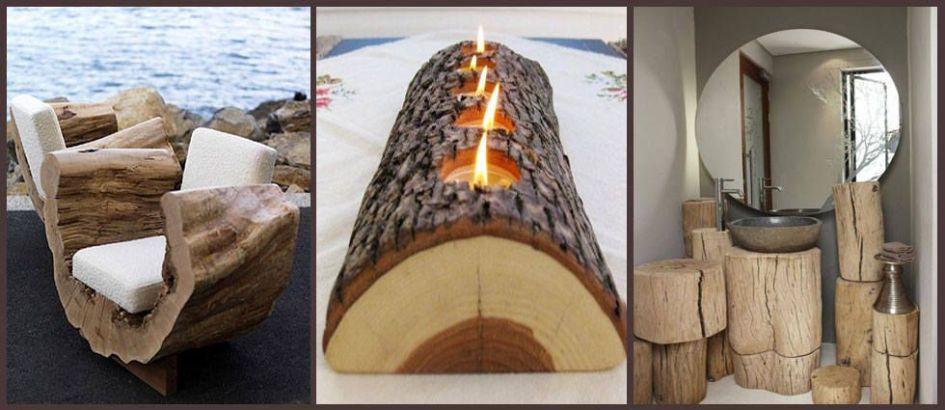 decoracion-troncos-madera