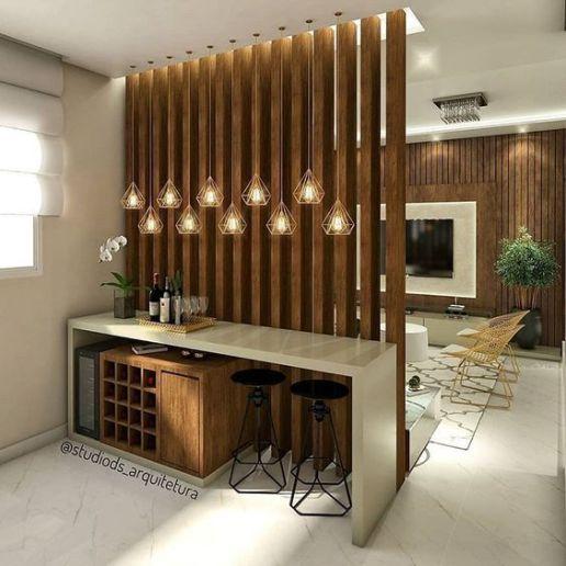Decoración de interiores con separadores de ambiente (5)