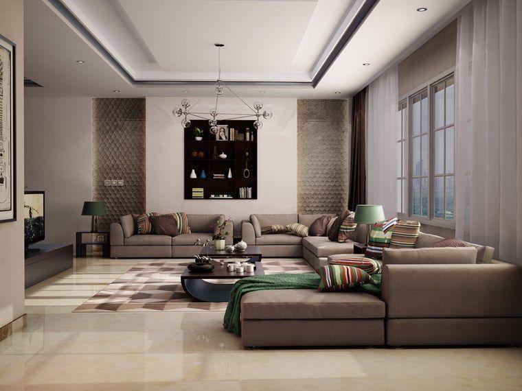 ideas, diseños y decoración para salones (36)
