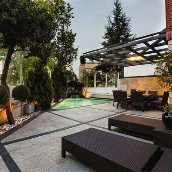 11 Ideas para terraza jardín (4)