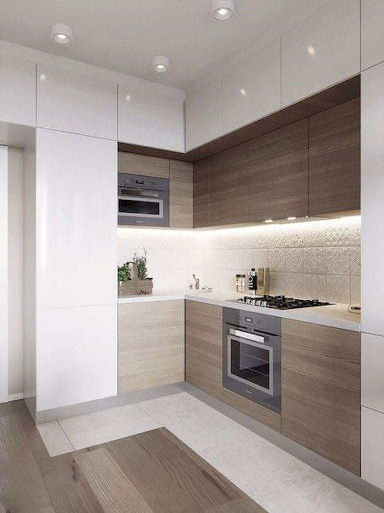 decoración de cocinas pequeñas modernas y elegantes - economicas