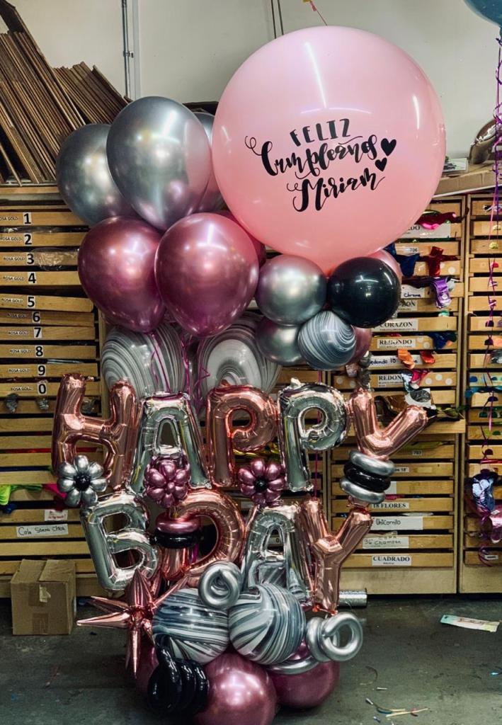 Decoración con globos (1)