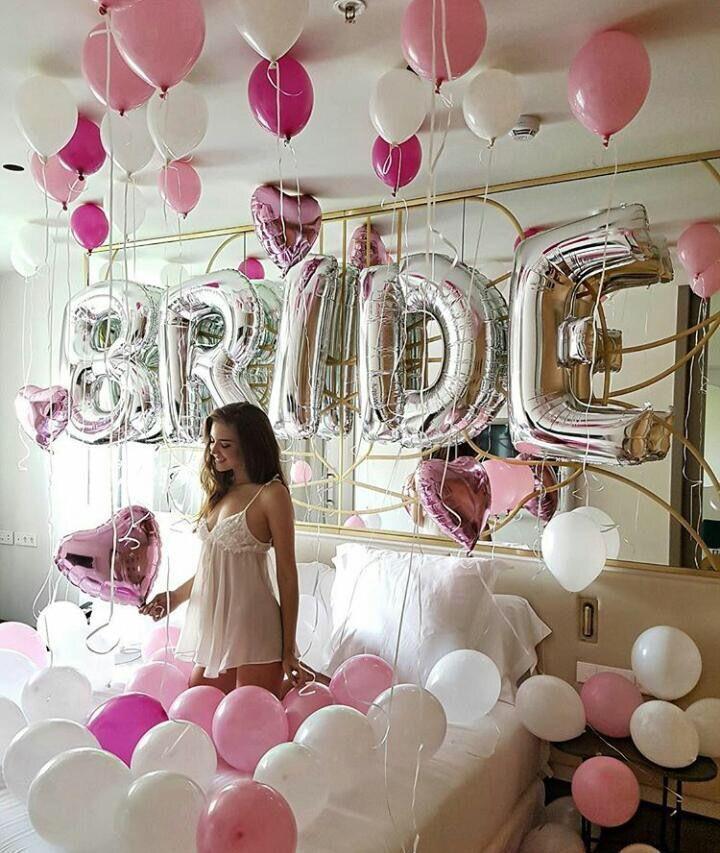 decoración con globos mylar formas basic