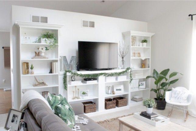mueble diy para televisión