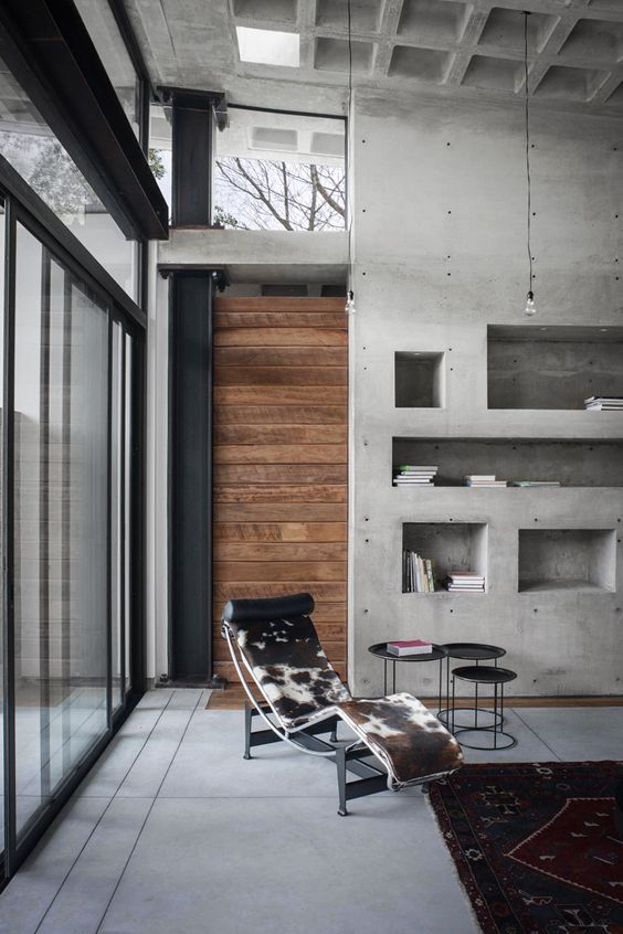 Decoración del hogar con cemento y hormigón (12)