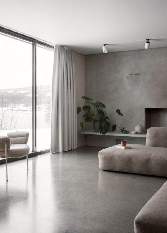 Decoración del hogar con cemento y hormigón (9)