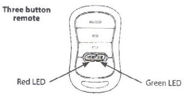 Genie Garage Door Remote Control G3T-BX Programming