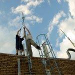 LTE Antennenmontage