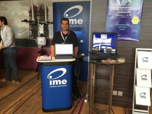 ime mobile solutions Stand auf der IoT Conference 2019