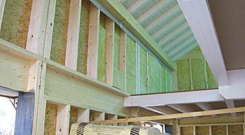 Maison  Construction  Poteaux Poutres  Chalet de bois rond  Chalet de type Scandinave