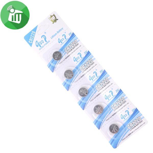qoop Lithium Ion Battery CR1220 3V (3)