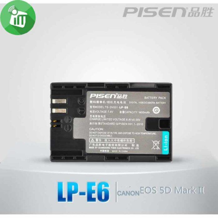Pisen LP-E6 Camera Battery Charger for Canon EOS (3)