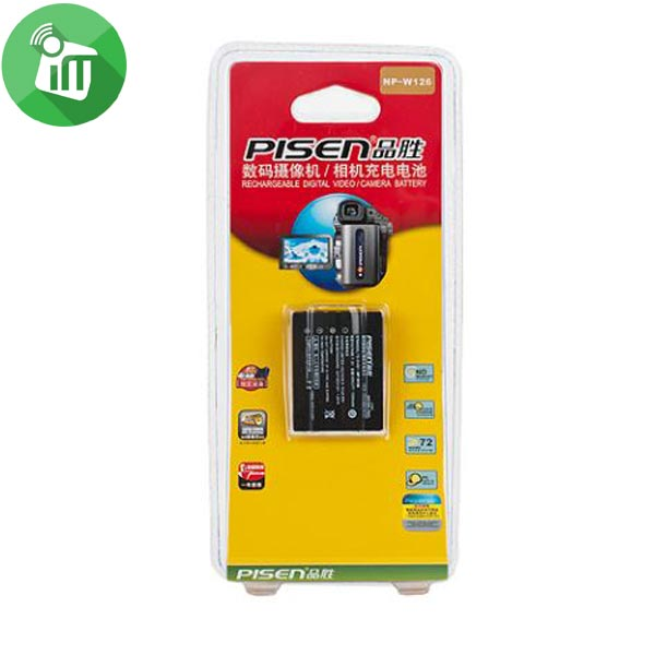 Pisen NP-W126 Camera Battery Charger for Fuji (1)
