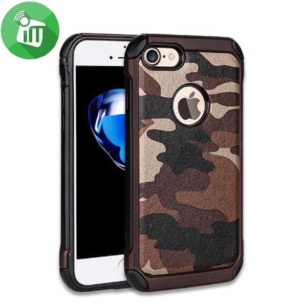0fb78f346d Camouflage Shockproof Armor Back Cover Case For Iphone 6 Plus 6s