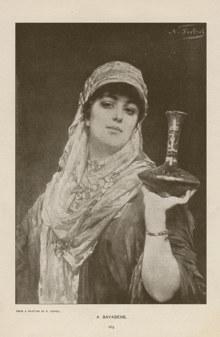 A Bayadere, Nathaniel Sichel