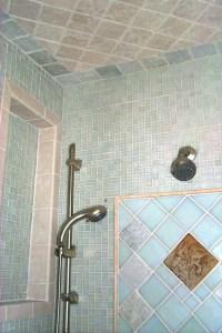 Tile Bathroom Ceiling Above Shower