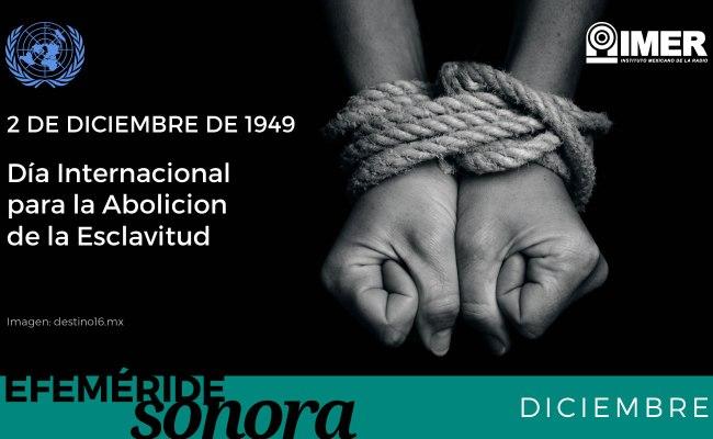 2 De Diciembre Día Internacional Para La Abolición De La