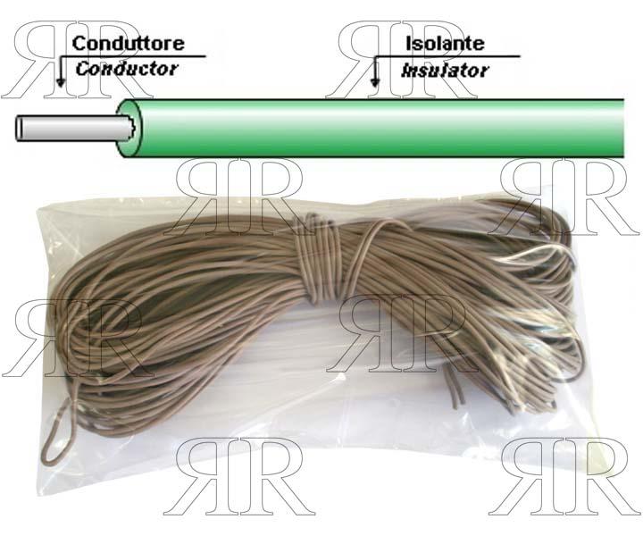 CAVETTO STERLINGATO PER ALTE TEMPERATURE L700 MM  IME