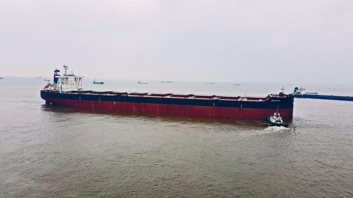 Το πλοίο Goliath / Πηγή: Starbulk