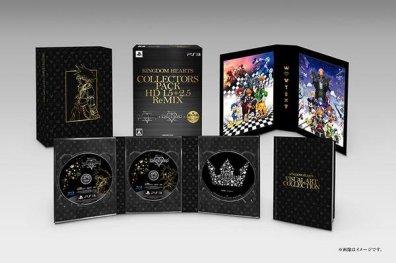 Actualité - éditions spéciales Kingdom Hearts HD ReMIX - édition collector 2