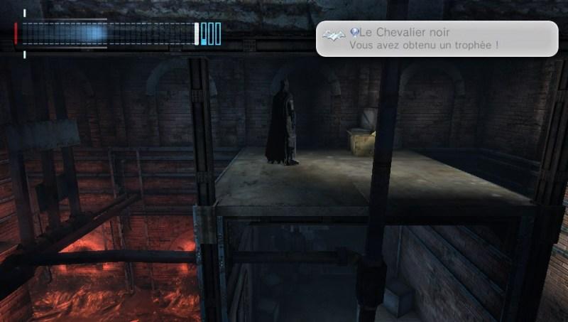 Test - Batman Arkham Origins Blackgate - trophées