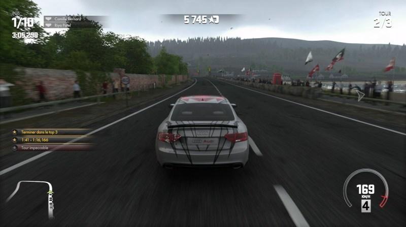Test - DriveClub - navigation et gameplay