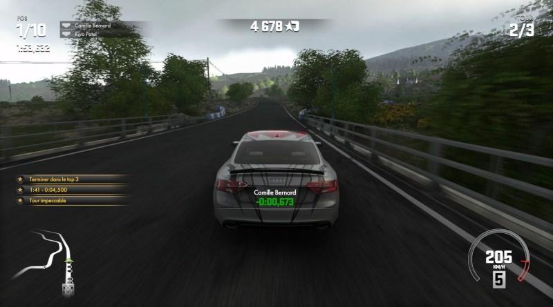 Test - DriveClub - principe du jeu