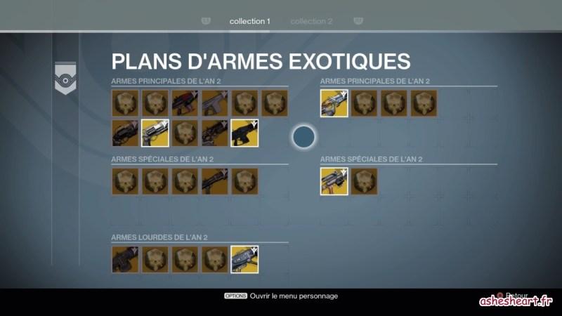 Collection d'armes exotiques
