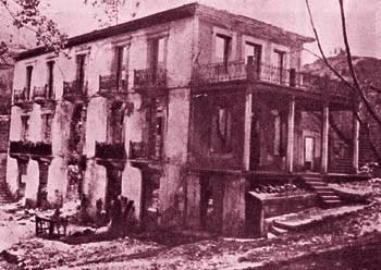 Το ξενοδοχείο ΧΕΛΜΟΣ μετά από την πυρκαγιά