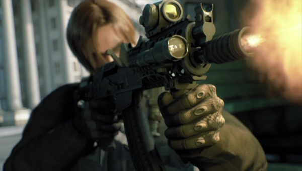 Resident Evil Damnation  Internet Movie Firearms