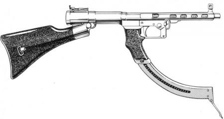 Nambu Experimental Submachine Gun Internet Movie