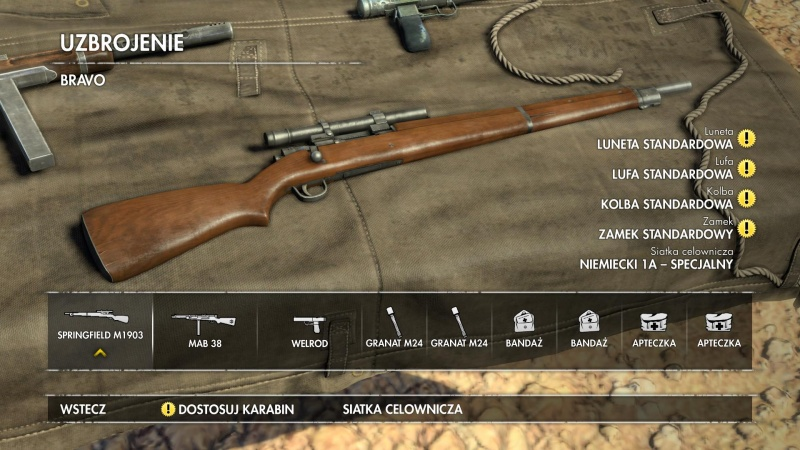 File:SniperElite3 Springfield M1903A4 menu.jpg - Internet Movie Firearms Database - Guns in Movies. TV and Video Games