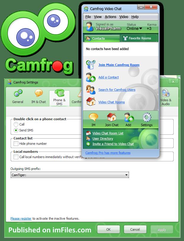 camfrog视频6.0_Camfrog 6.7 Build 356 - Camfrog