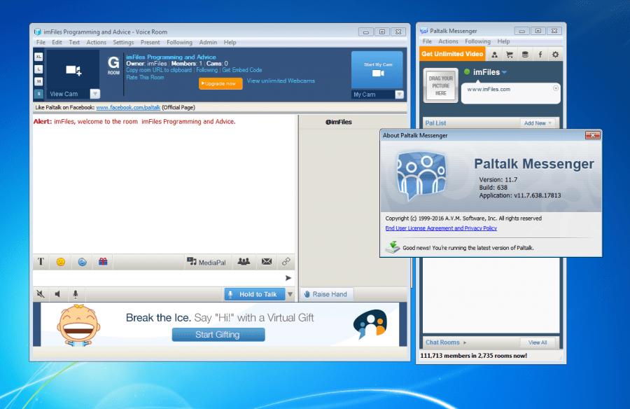 Paltalk 1.13.85 Build 2989