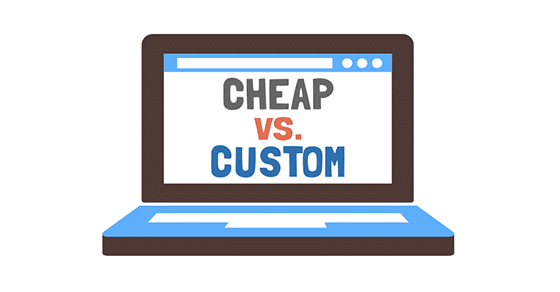 Cheap Websites vs Custom Websites