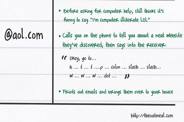 What Your AOL Email Address Says About You
