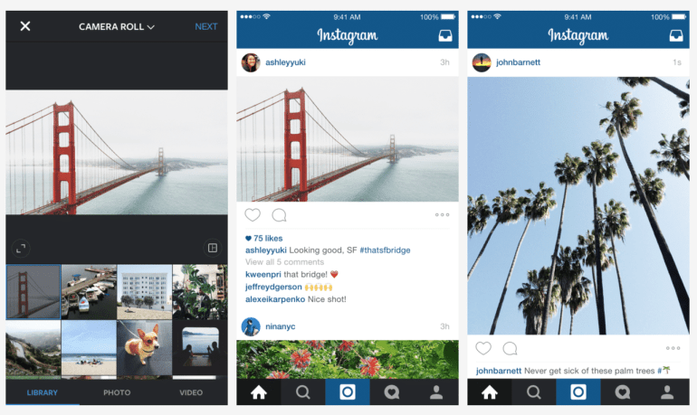 Instagram Adds Support for Portrait and Landscape Images