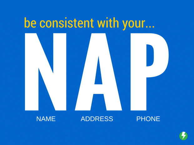 Be Consistent with Your NAP