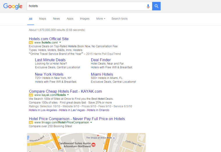 Google Removes Sidebar Ads