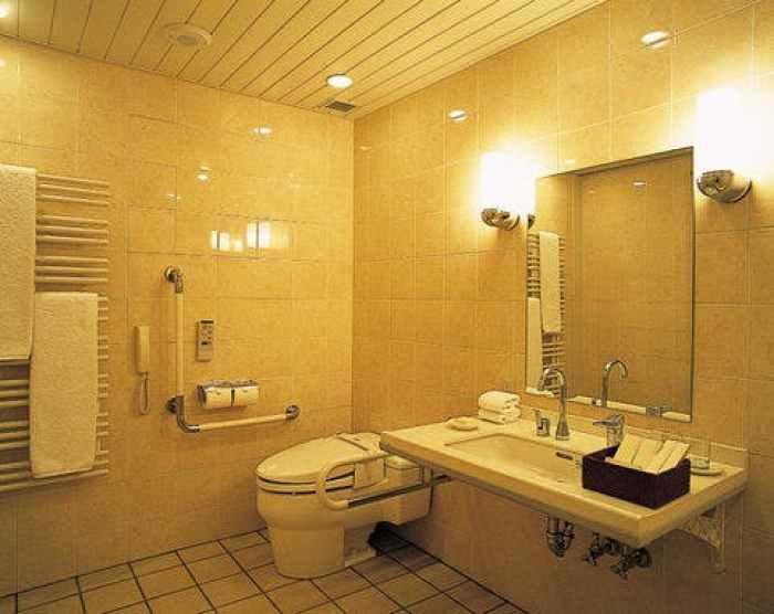 【ハイアット リージェンシー 箱根 リゾート&スパ】アクセシブルツインルームのバスルーム