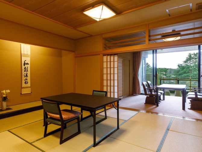金沢・辰口温泉 まつさき 新館鳳凰のバリアフリールーム