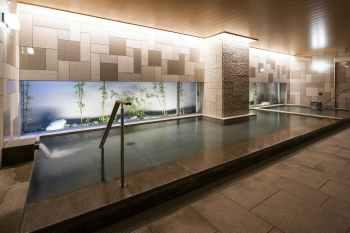 【京都ユウベルホテル】大浴場