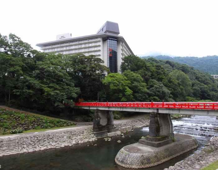 【湯本富士屋ホテル】の外観