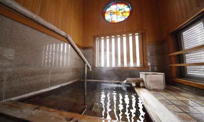 【水上館】貸切風呂「白蓮の湯」