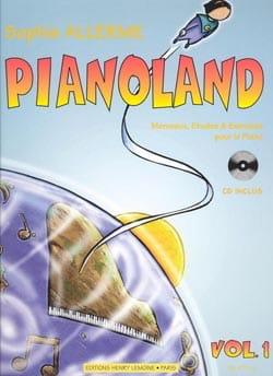 Pianoland Volume 1  Sophie Allerme  Partition  laflutedepancom
